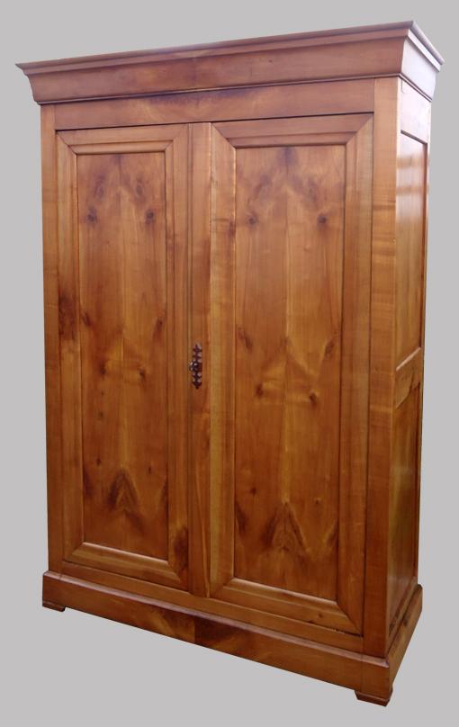 armoire ancienne merisier louis philippe