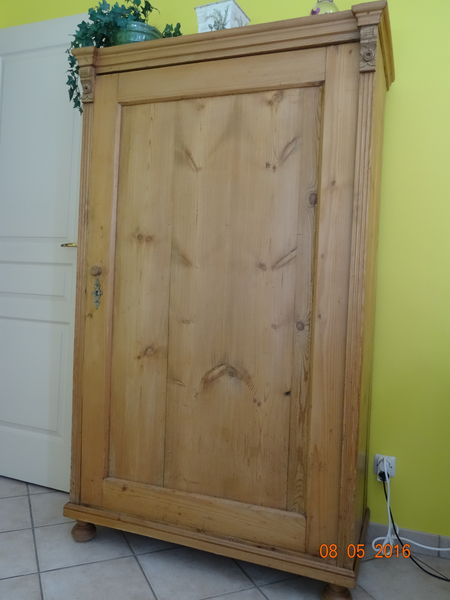 armoire ancienne pin massif