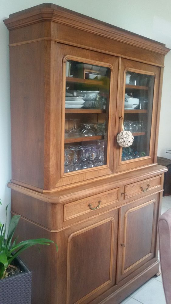 buffet ancien noyer