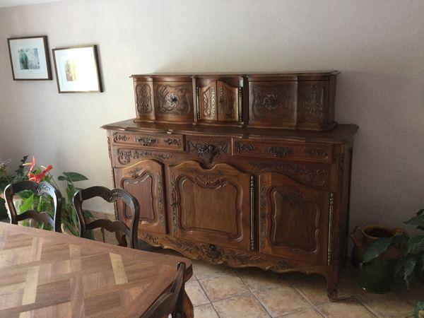 buffet ancien provencal
