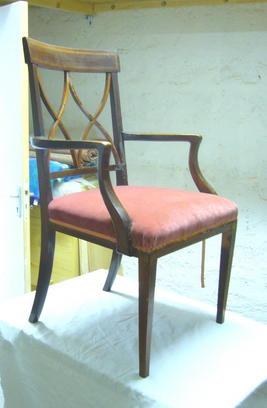 chaise ancienne anglaise