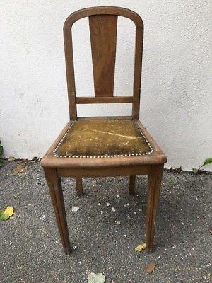 Specialiste Art Deco Ancien Chaise Le Du Meuble Ancienne fy6IvYb7g