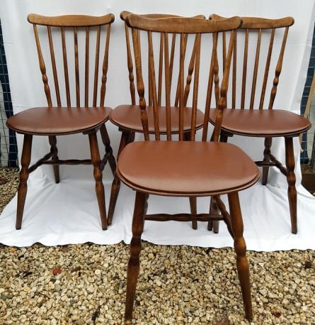 chaise ancienne baumann