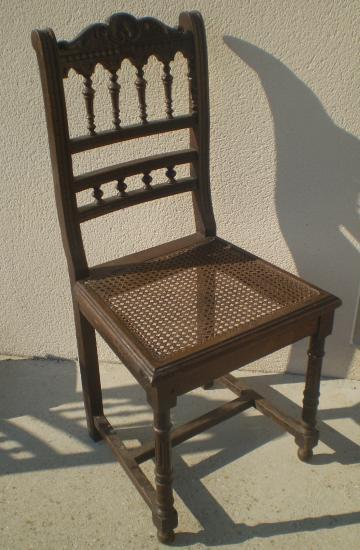 Chaise ancienne cannee le specialiste du meuble ancien - Style chaises anciennes ...