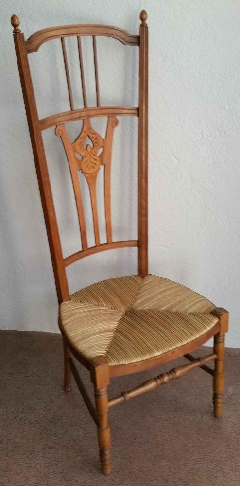Chaise Ancienne De Nourrice