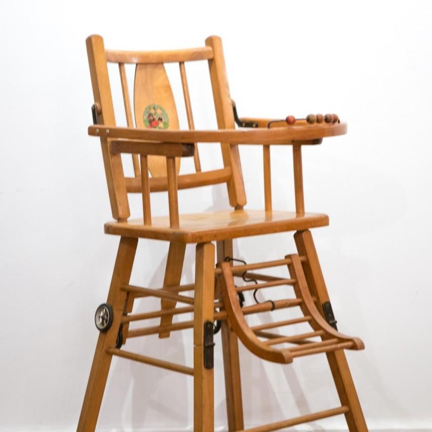 chaise ancienne haute
