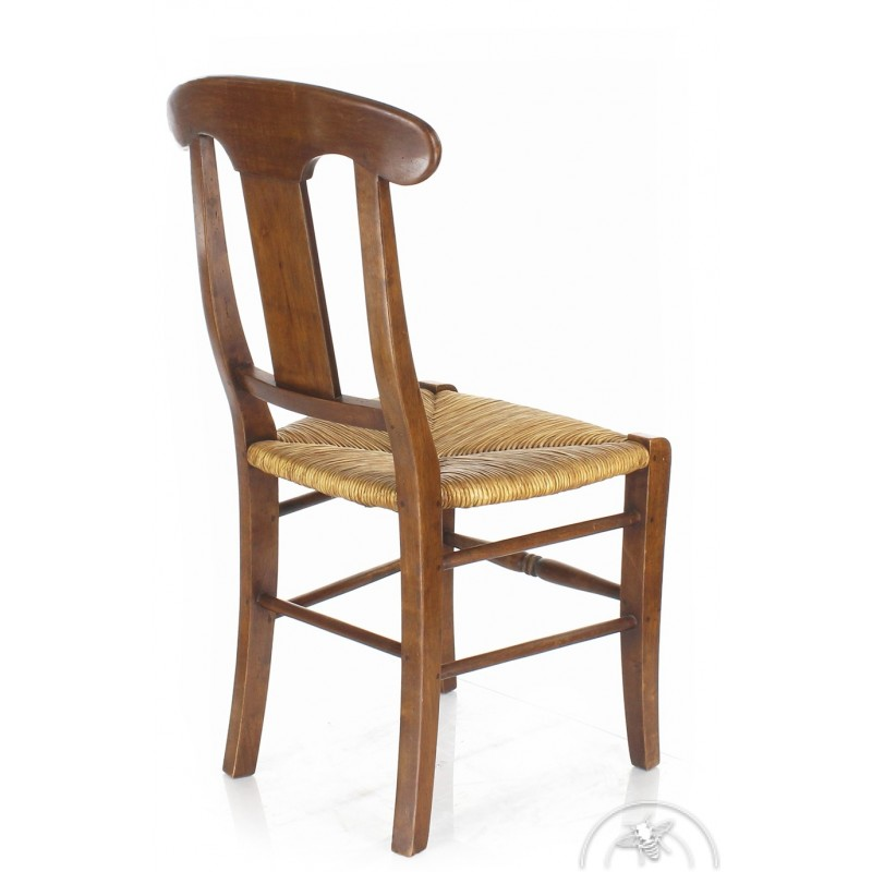 chaise ancienne paillee