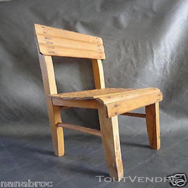 chaise ancienne rare