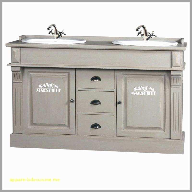 meuble ancien double vasque