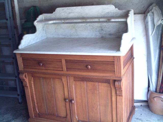 meuble ancien lasure