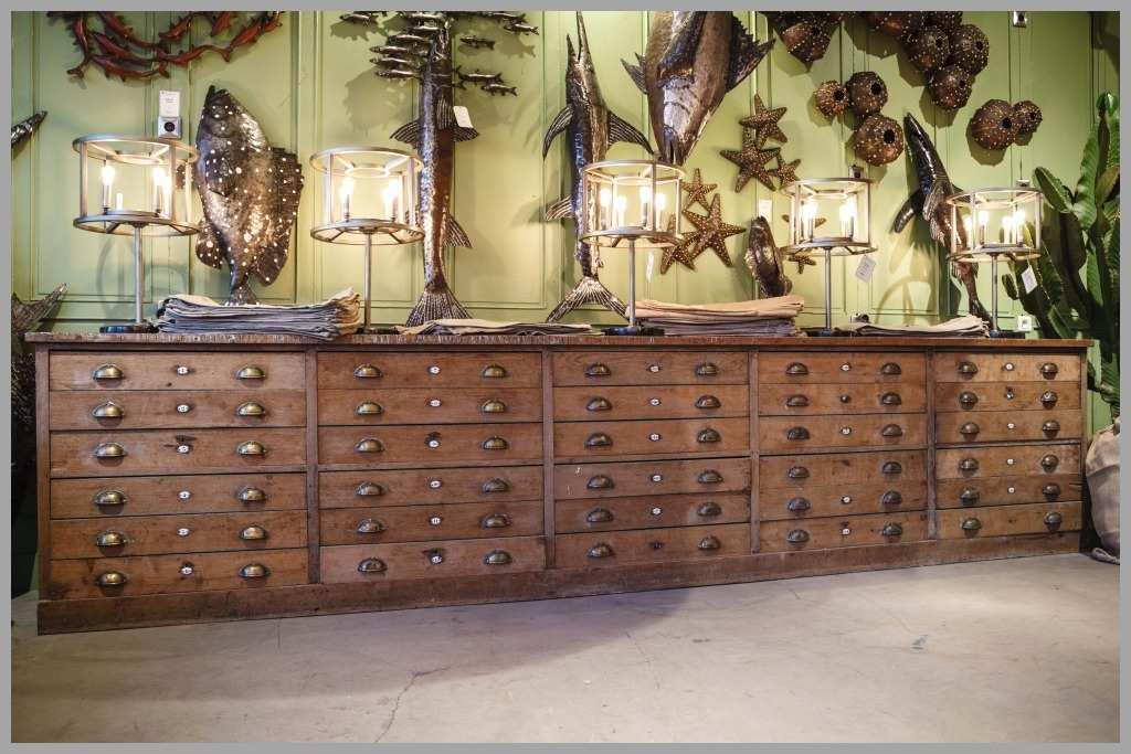 meuble ancien mercerie