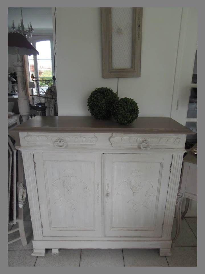 meuble ancien peint en blanc - Le specialiste du meuble ancien