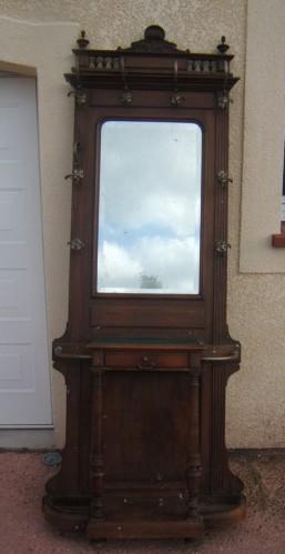 meuble ancien une porte