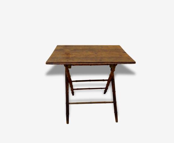 table ancienne bois pliante - Le specialiste du meuble ancien