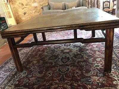 table ancienne en bois massif