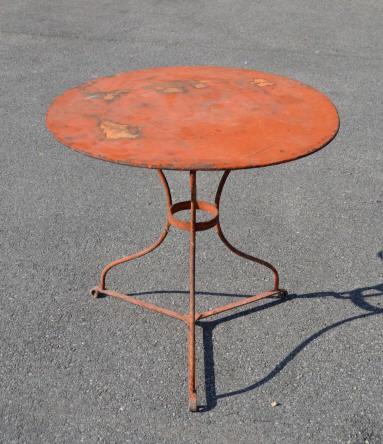 table ancienne jardin