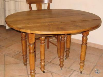 table ancienne noyer louis philippe