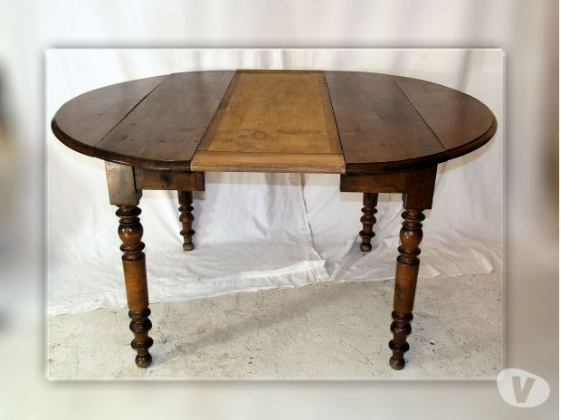 table ancienne ovale
