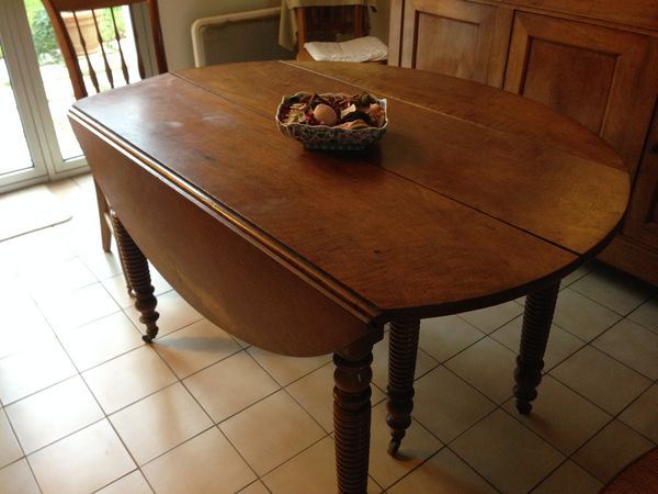 table ancienne ronde