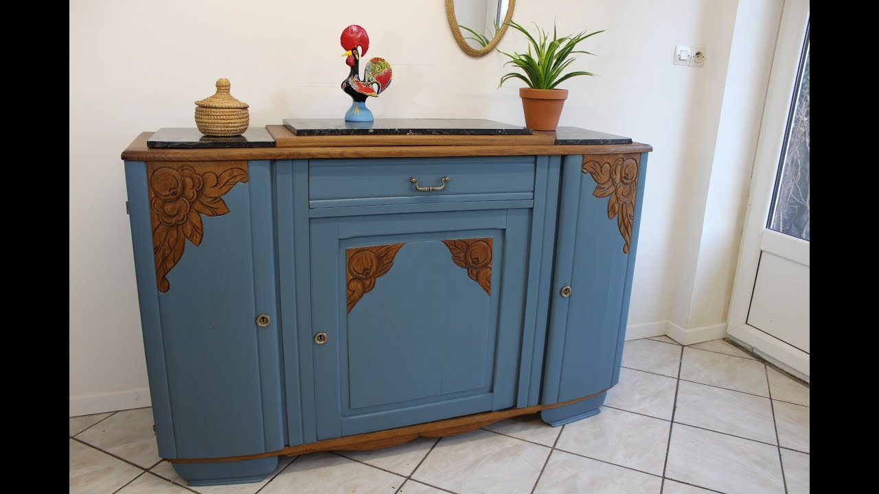 relooker meuble marbre customiser repeint renove renover repeindre campagnard années
